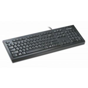 Kensington Wired USB UK Keyboard Black 1500109 | Code AC14014